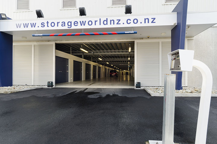Storage World entrance